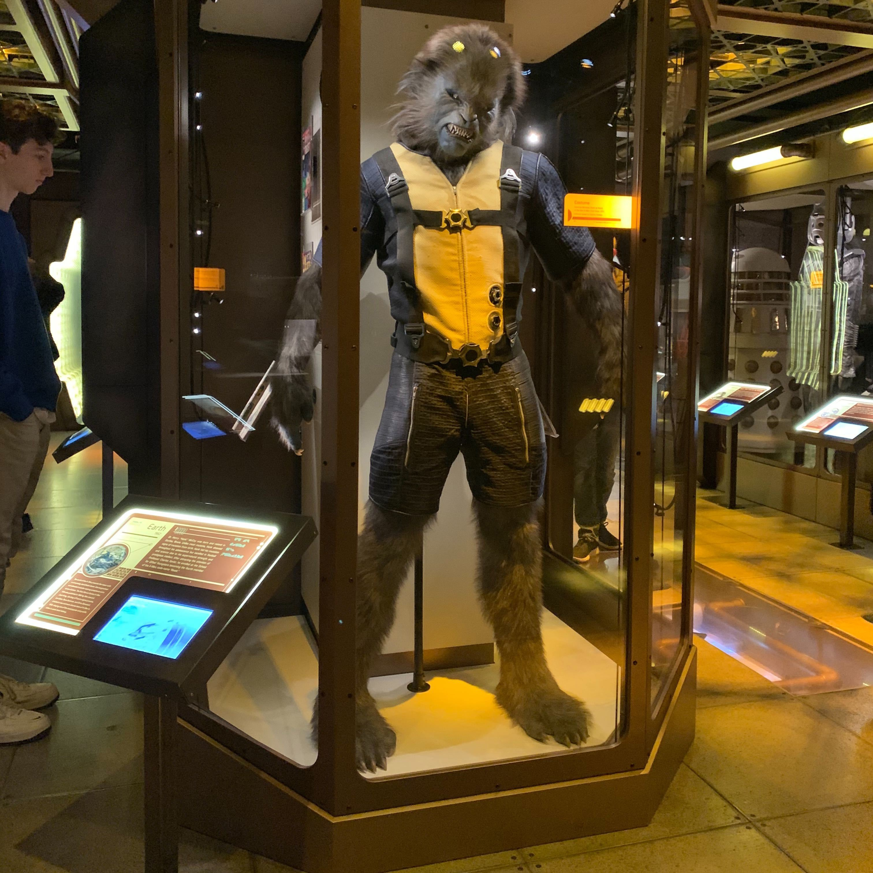 'Beast' costume worn Nicholas Hoult in the 2011 film 'X-Men: First Class'